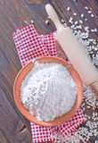 Rice flour Royalty Free Stock Photo