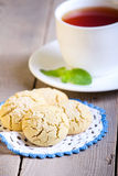 Rice flour cookies Royalty Free Stock Images
