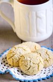 Rice flour cookies Stock Images
