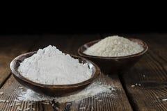 Rice Flour Stock Photography