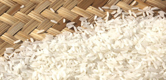 Rice. Good rice for good health Royalty Free Stock Image