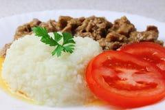 Rice goulash Stock Image
