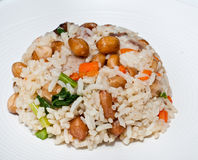 Rice with grain Royalty Free Stock Image