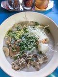 Rice gruel Stock Photos