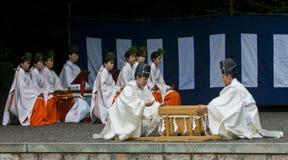 Rice harvest ceremony Stock Photography