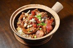 Rice Hot Pot Stock Photography