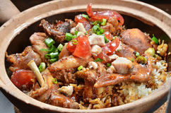 Rice Hot Pot Royalty Free Stock Photo