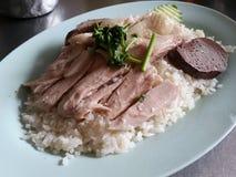 Rice i kurczak Zdjęcie Stock