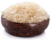 Rice In A Bowl. Stock Photography