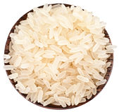 Rice In A Bowl. Royalty Free Stock Photo