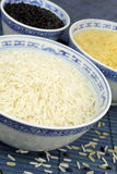 Rice In Bowls Royalty Free Stock Photo