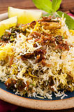 Rice indian style Stock Images