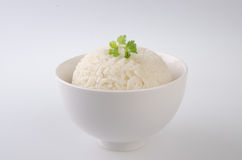 Rice isolated on white Royalty Free Stock Photos