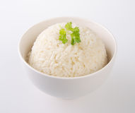 Rice isolated on white Stock Photo