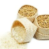Rice isolated Royalty Free Stock Photo
