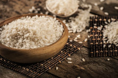 Rice, jasmine rice, mali rice Stock Photo