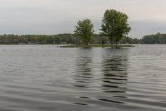 Rice Lake Island Royalty Free Stock Photo