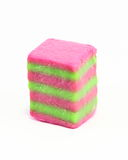 Rice layer cake kuih lapis Stock Photos