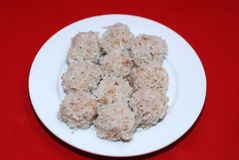 Rice meat balls Stock Photography
