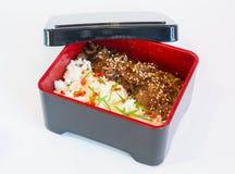 Rice med grönsaker Royaltyfri Fotografi