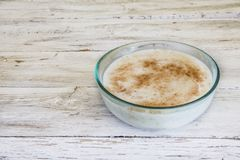 Rice with milk Stock Photos