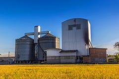 Rice mill Stock Image