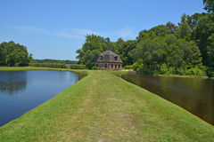 Rice mill Middleton Place Royalty Free Stock Photos