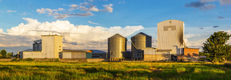Rice mill Panorama Stock Photography