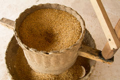 Rice Mill. In Traditional machine royalty free stock photography
