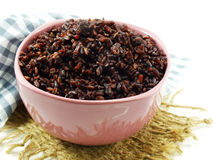 Rice mix purple rice berry rice Stock Photography