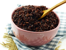 Rice mix purple rice berry rice Royalty Free Stock Images