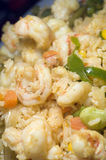 Rice with mixed seafood nicaragua style Royalty Free Stock Image