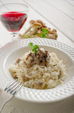 Rice with mushroom Stock Image
