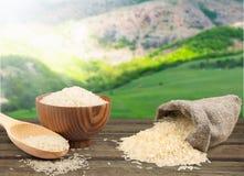 Rice na naturalnym tle Fotografia Royalty Free