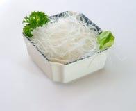 Rice noodie Stock Image