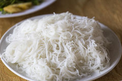 Rice noodle texture Royalty Free Stock Image
