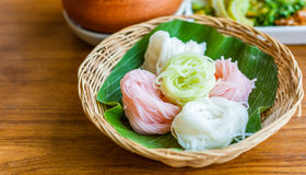 Rice noodle thai food Stock Image