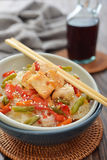 Rice noodles Stock Photos