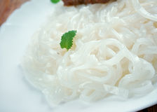 Rice noodles Stock Image