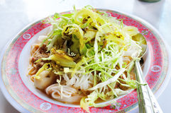 Rice Noodles coconut milk curry Stock Images