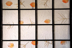 Rice paper screen Stock Images