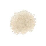 Rice paraboled. Isolated on white background Royalty Free Stock Photography