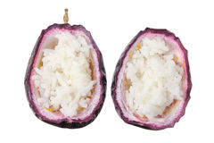 Rice in Passion Fruit Royalty Free Stock Image