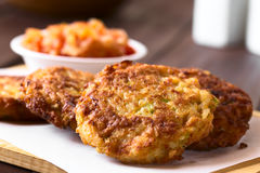 Rice Patties or Fritters Stock Photography
