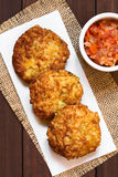 Rice Patties or Fritters Royalty Free Stock Image