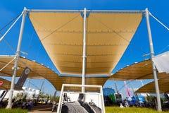 Rice Pavilions - Expo Milano 2015 Stock Image