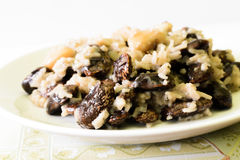 Rice and Peas Royalty Free Stock Photos