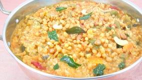 Rice pilaf. In a steel utensil Stock Image