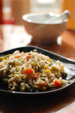 Rice on a plate Stock Image