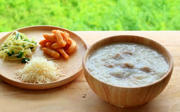 Rice porridge Royalty Free Stock Images